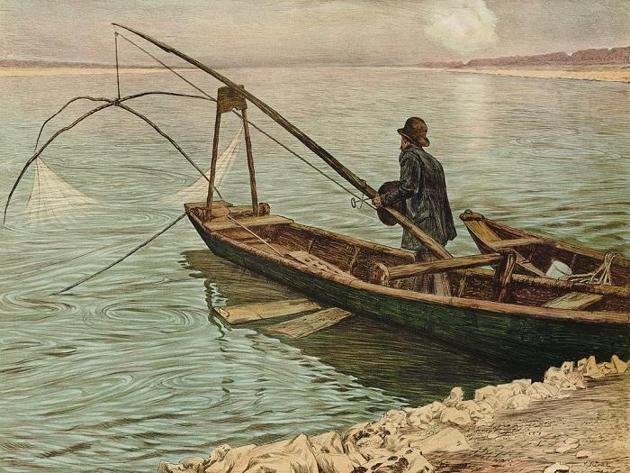 Max Kurzweil - Il pescatore (1900)