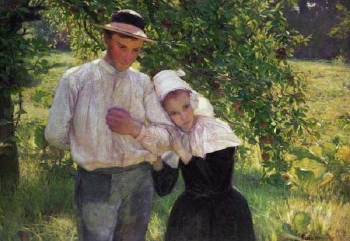 Max Kurzweil - Una passeggiata nel giardino (1896)