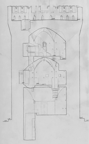 San Benedetto del Tronto - La Torre dei Gualtieri - interno