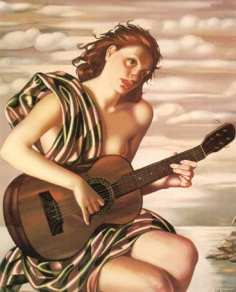Tamara de Lempicka - Amethyst (1946)