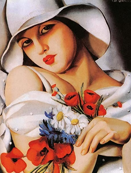 Tamara de Lempicka - In The Middle Of Summer (1928)