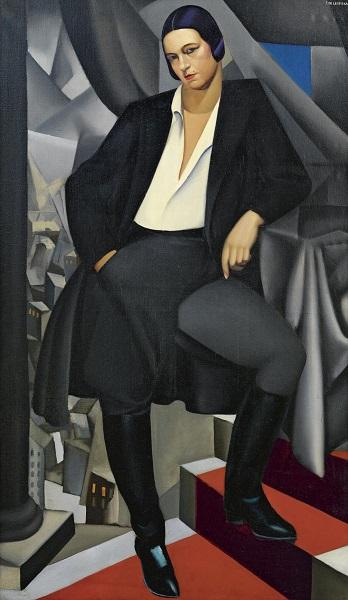 Tamara de Lempicka - Portrait de la Duchesse de la Salle (1925)