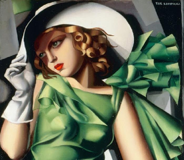 Tamara de Lempicka - Ragazza in verde (1927-1930)
