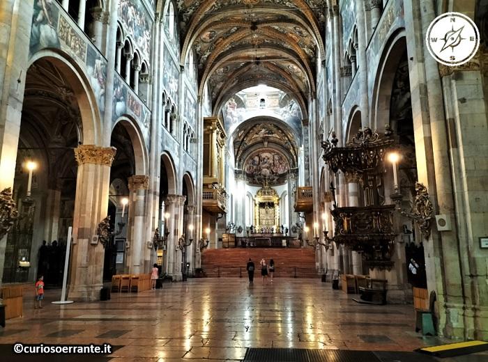 Parma - Cattedrale interno