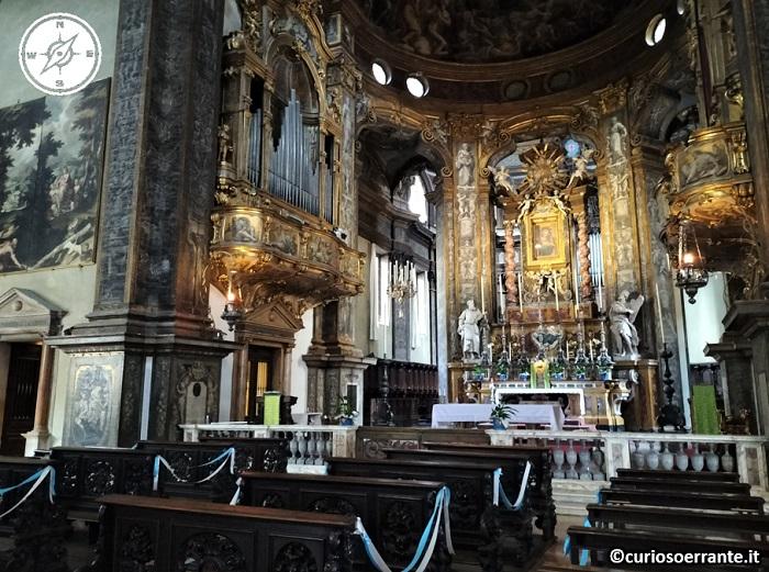 Parma - Chiesa della Steccata interno