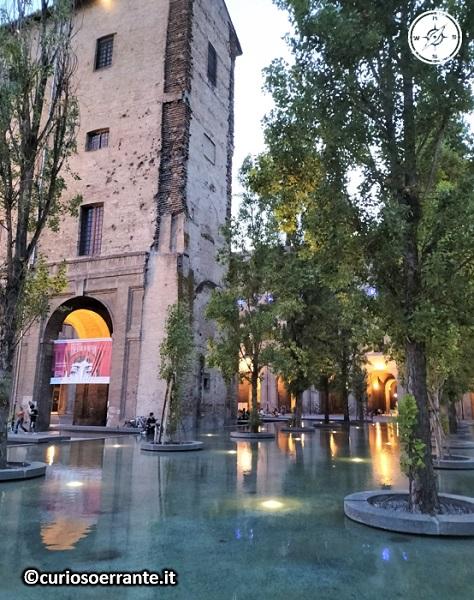 Parma - Palazzo della Pilotta - Fontana di Piazzale della Pace