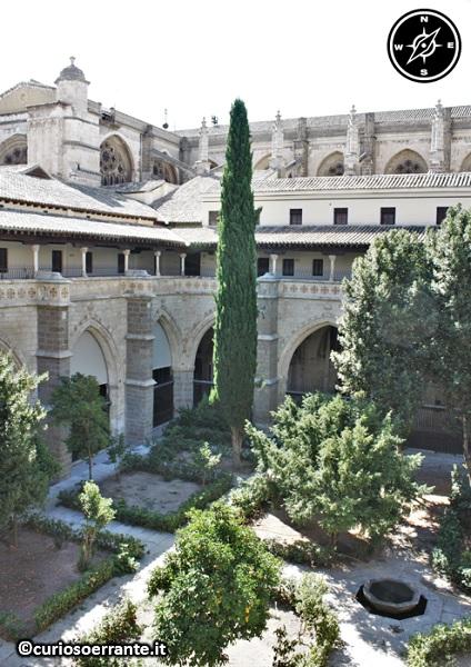 Toledo - Cattedrale di Santa María de Toledo - chiostro