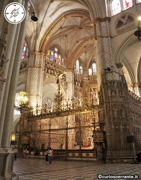 Toledo - Cattedrale di Santa María de Toledo - interno