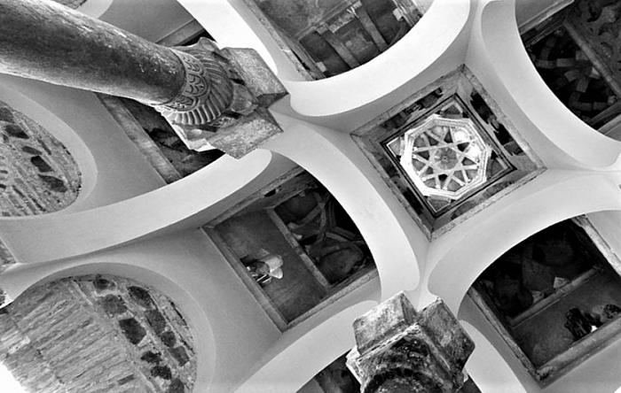 Toledo - Mezquita Cristo de la luz- cupola